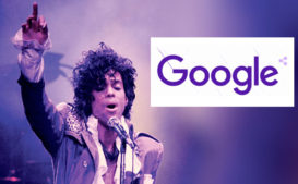 Google Honors Prince with 'Purple Rain' Doodle