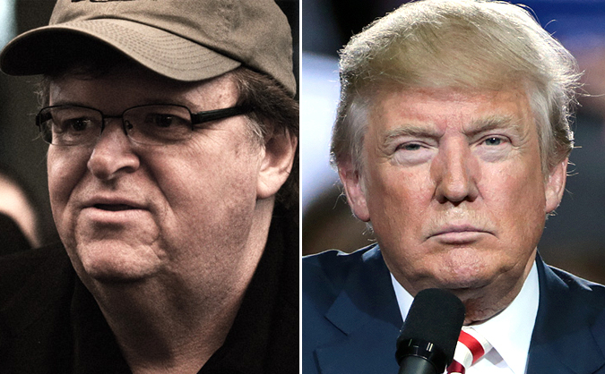 Image result for michael moore trump