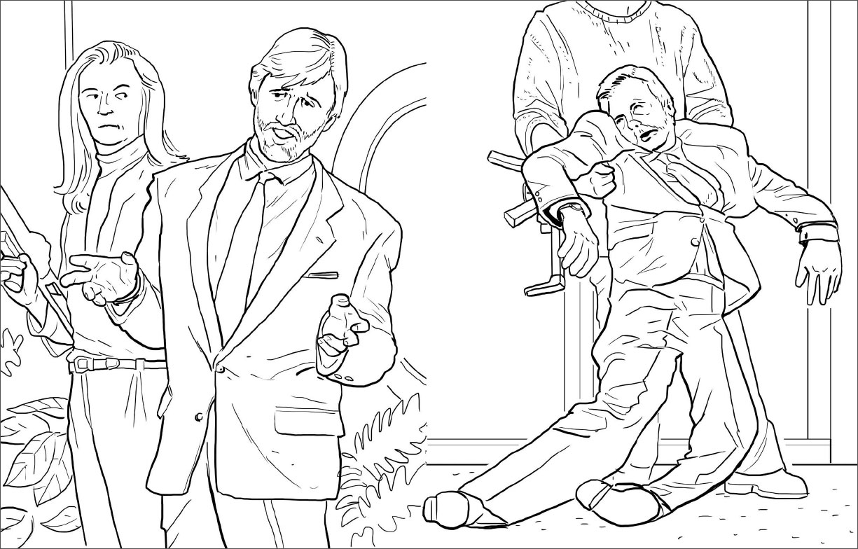 39 die hard 39 is a coloring book now so yippie ki yay or for Hard coloring pages