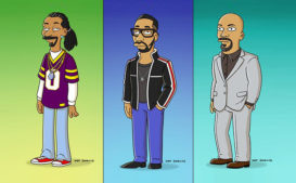 "The Simpsons' ""Hip-Hop Homage"" Episode to Feature RZA, Snoop Dogg, Common"