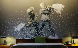 Banksy's Newest Work is 'The Walled Off,' an Art Hotel in Bethlehem