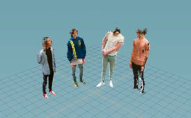 Watch: Hippo Campus Travel Into CGI Software For 'Western Kids' Video