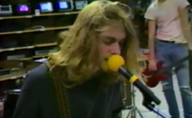 Watch Previously Unseen Footage of Nirvana's 1988 RadioShack Video Shoot