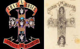 The Inside Story of Guns N' Roses' 'Appetite for Destruction' Album Cover