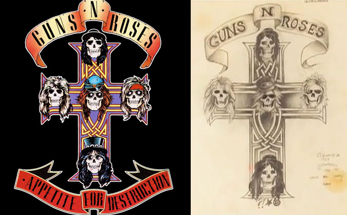 appetite for destruction album cover art