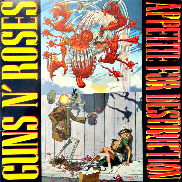 Appetite for Destruction cover