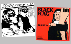 sonic youth black flag pettibon