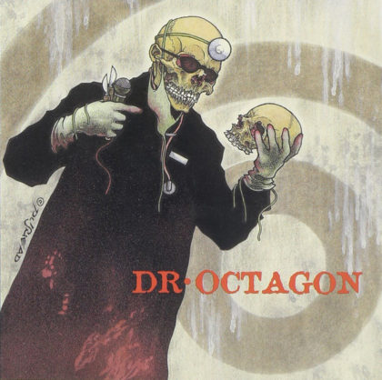 dr octagon album cover