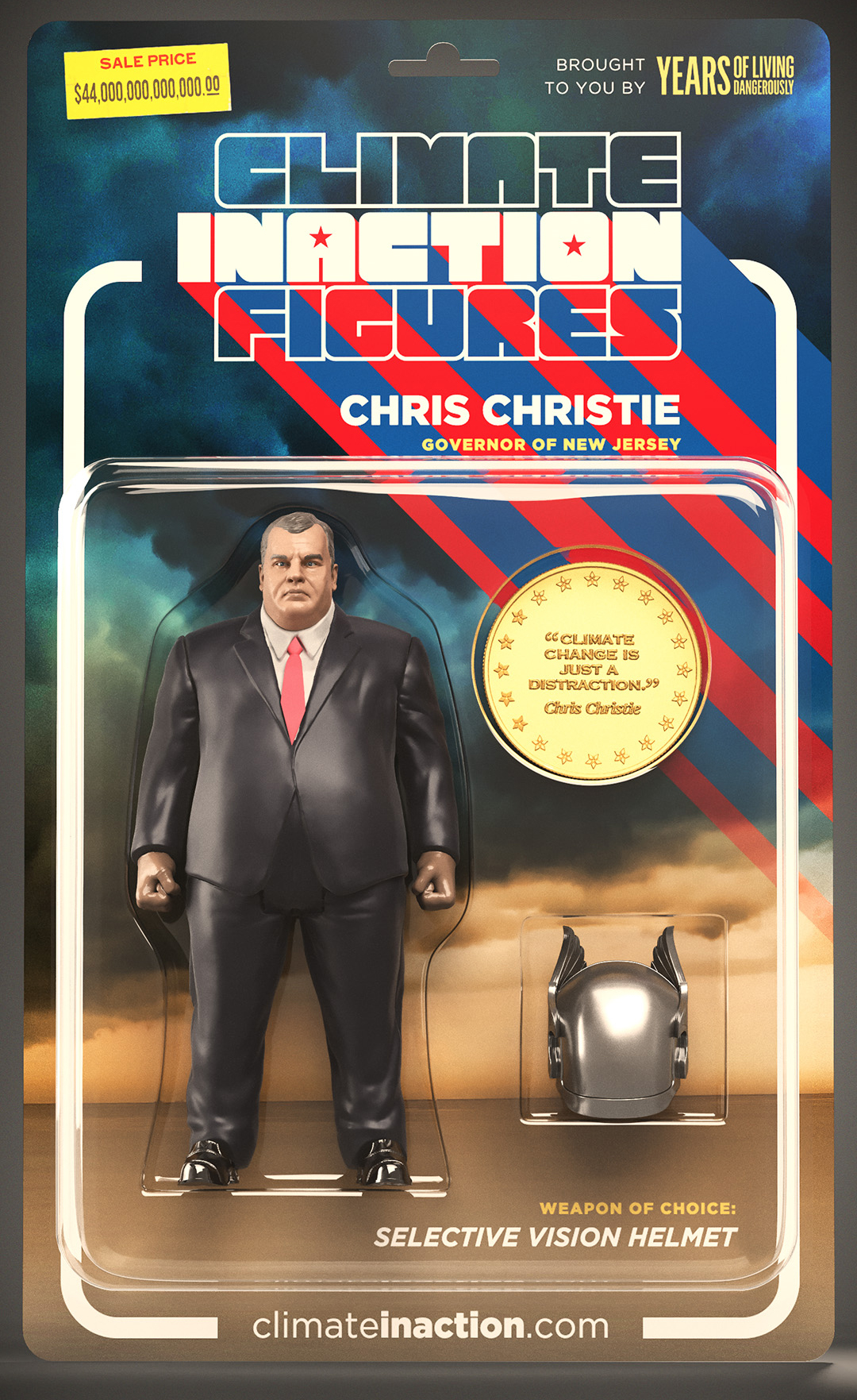 climate inaction figures chris christie