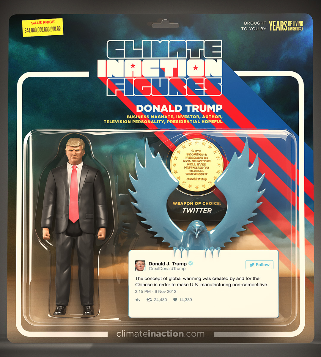 climate inaction figures donald trump