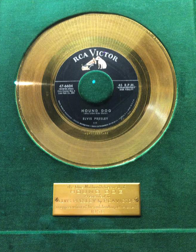elvis presley hound dog record