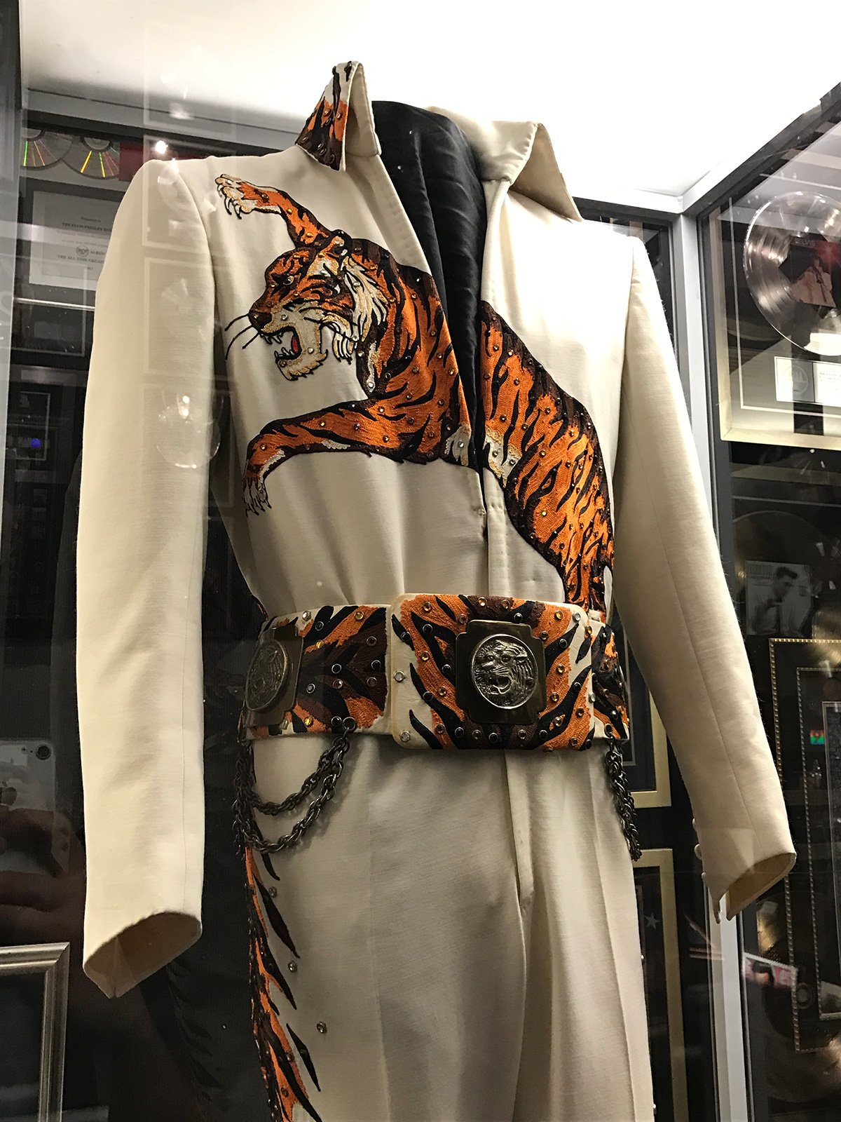 elvis presley tiger suit
