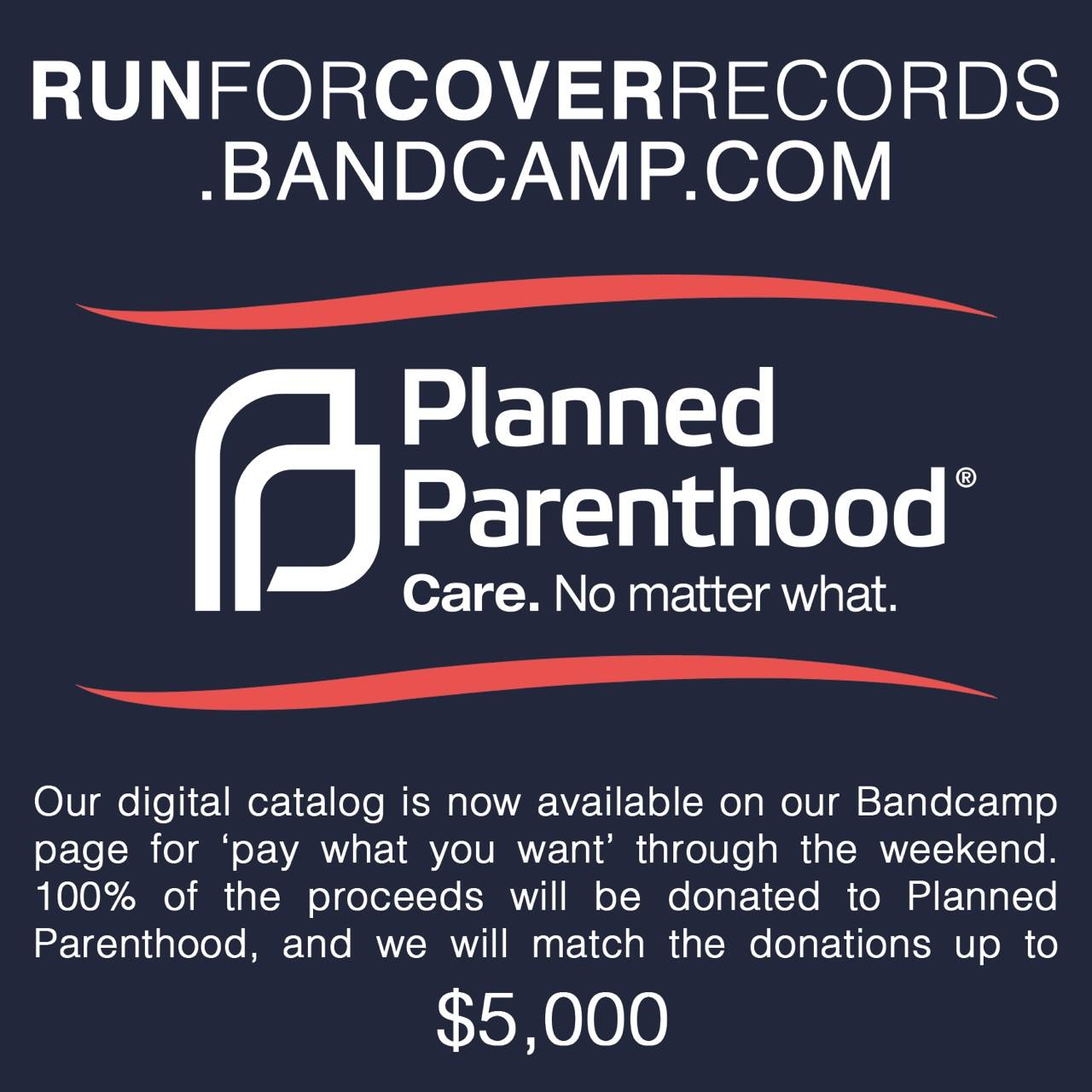 run for cover planned parenthood