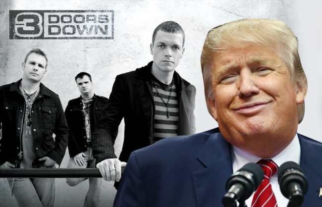 trump three doors down