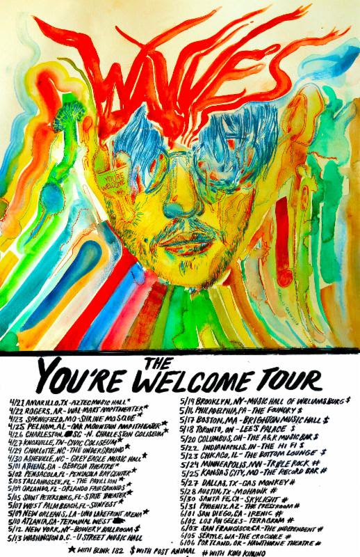 wavves youre welcome tour