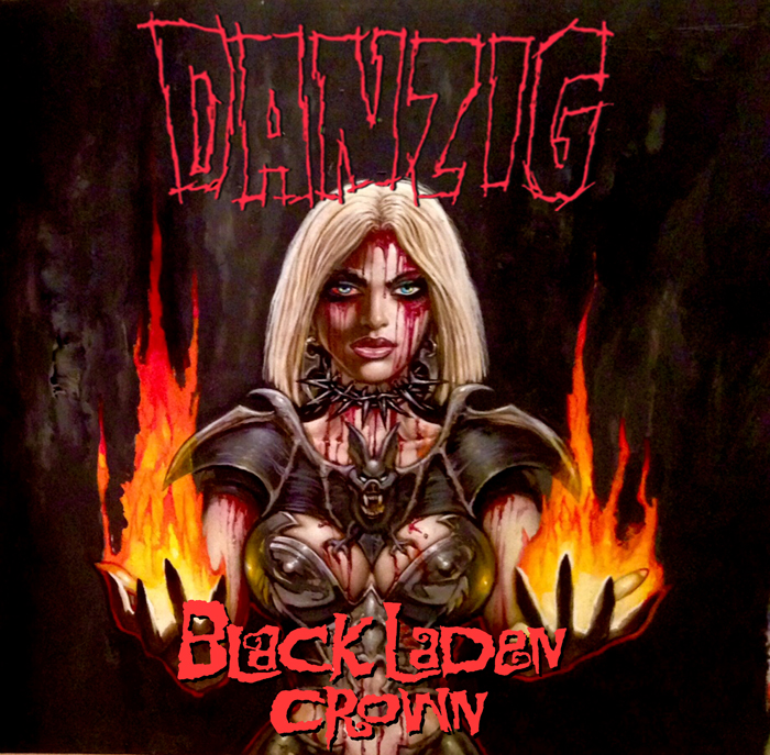 Danzig Black Laden Crown