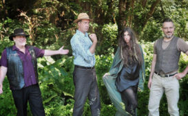 Nirvana's Krist Novoselic Releases Music Video With His New Band, Giants In The Trees (Watch)
