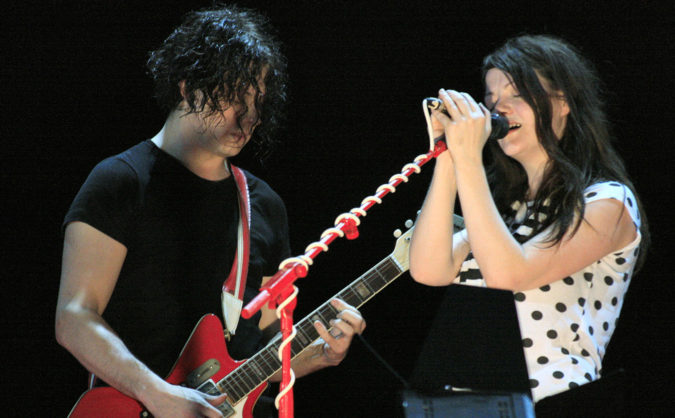 white stripes first show