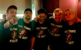 Watch Jello Biafra Join Dead Cross for 'Nazi Trumps Fuck Off'